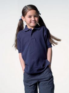100% Cotton Children's Short Sleeve Polo