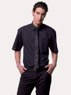 Short Sleeve Poly Cotton Easycare Poplin Shirt