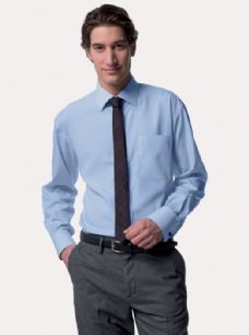 Men's Long Sleeve Tencel® Corp. Shirt