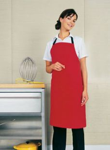 Polyester/cotton Apron No Pocket