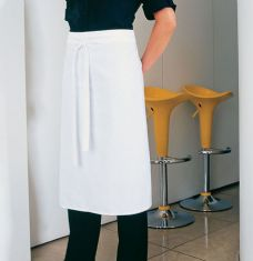 Long Cotton Bar Apron