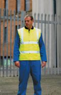 High visibility bodywarmer