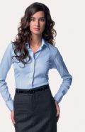 Ladies' Long Sleeve Tencel® Corp. Shirt