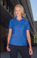 Womens Workplace Oxford shirt short sleeve