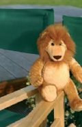 Lenny the Lion bear with no ribbon