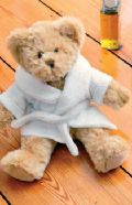 Teddy dressing gown