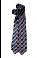 Silk tie - triple check