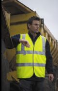 High-viz safety vest (EN471 Class 2)