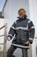 Waterproof management safety coat