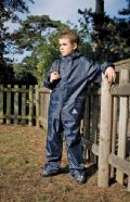 Kid's weatherguard jacket/trouser suit